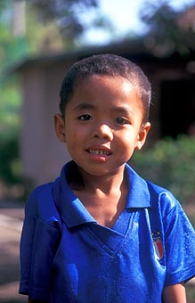 Lombok boy from Suradadi portrait