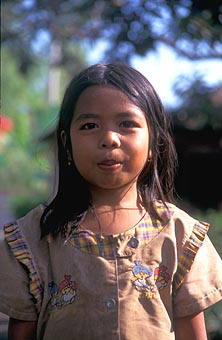 Lombok girl from Suradadi portrait