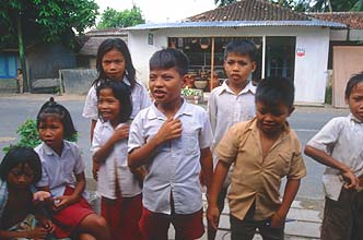 Mataram Lombok kids from Penujak viillage 1
