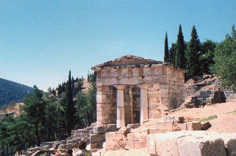 Delphi: the treasure-house of the athenians