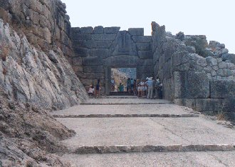 Mycenae, Lion gate