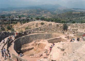 Mycenae excavations