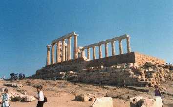 Poseidon Temple Cape Sounion