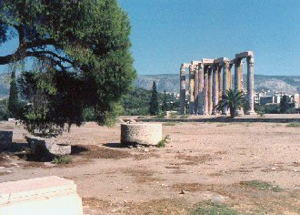 Temple of the Olympian Zeus, Athens