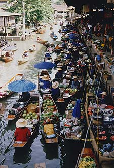 Floating Market in Damnoen Saduak 1