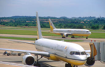 BWN Brunei Bandar Seri Begawan International Airport aircrafts.jpg