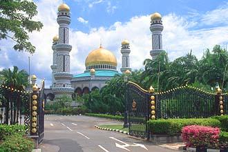 Brunei Bandar Seri Begawan Jame Asr Hassanil Bolkiah Mosque