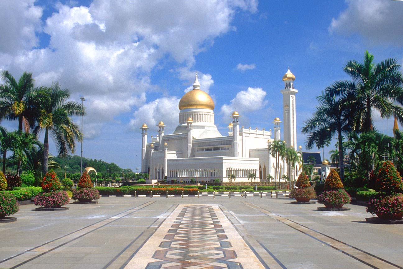 Waterfront, Bandar Seri Begawan, Brunei Darussalam, Asia ...  |Bandar Seri Begawan Brunei Darussalam
