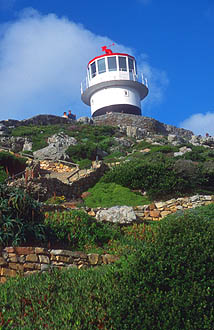 Cape Town Cape of Good Hope Nature Reserve Cape Point old lighthouse
