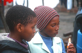 Cape Town Townships kids 1