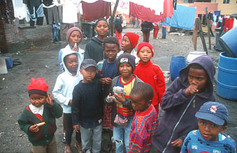 Cape Town Townships kids 2