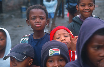 Cape Town Townships kids 3