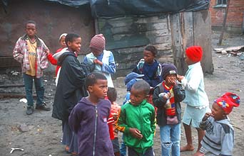 Cape Town Townships kids 5