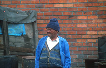 Cape Town Townships old man