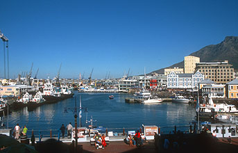 Cape Town Waterfront and harbour