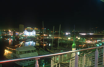 Cape Town Waterfront by night 1