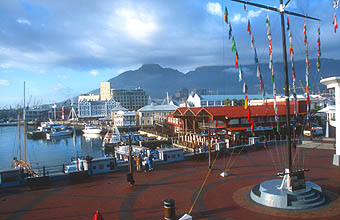Cape Town Waterfront in the morning