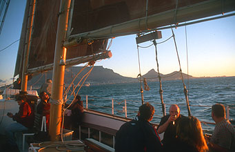 Cape Town sunset cruise across Table Bay 2