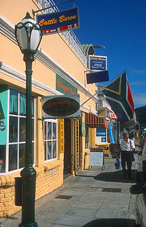 Hermanus shops in the city centre