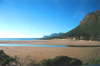 Kogel Bay coastal road between Kleinmond and Gordons Bay 1