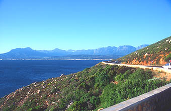 Kogel Bay coastal road between Kleinmond and Gordons Bay 4