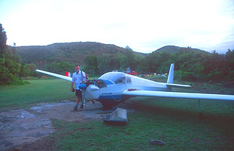 Plettenberg Bay Stanley Island Backpackers motorized glider maintenance
