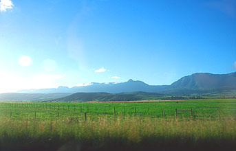 road from Albertinia to Swellendam 2