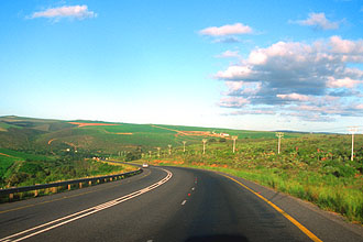 road from Knysna to Albertinia 2
