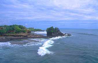 Tanah Lot Temple from east