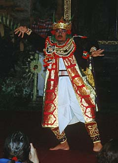 Bali Ubud Legong Dance performance in the Royal Palace03