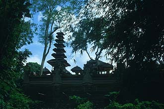 Bali Ubud surroundings small temple