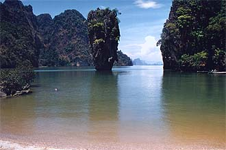 Phang-Nga Bay: James Bond Island