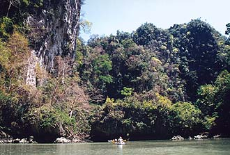 Phang-Nga Bay: Sea Canoeing, inland lagoon 1