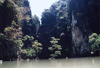 Phang-Nga Bay: Sea Canoeing, inland lagoon 2