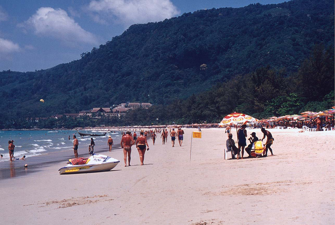 Patong Phuket Beach Wallpaper