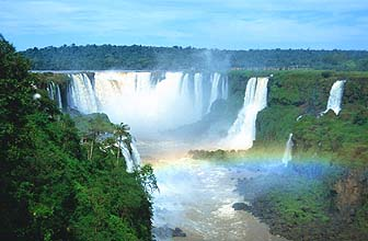 Iguassu Falls (Foz do Iguaçu): the waterfalls
