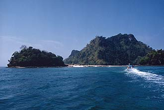 Krabi: Chicken Island and Tab Island