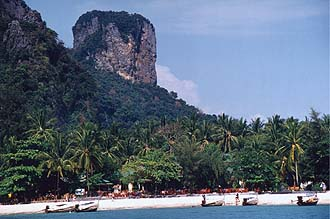 Krabi: Rai Lay West Beach