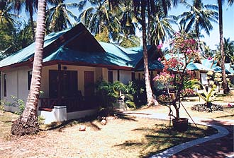 Krabi, Rai Lay West: Sand Sea Bungalows