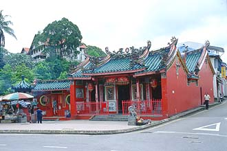 Kuching - Tua Pek Kong Chinese Temple