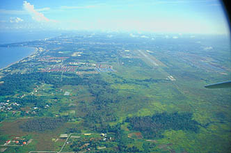 Sarawak - Miri City and airport
