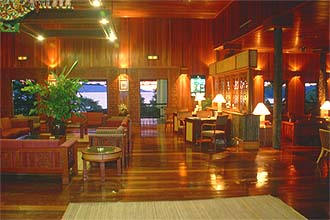 Hilton Batang Ai Longhouse Resort: The Hall