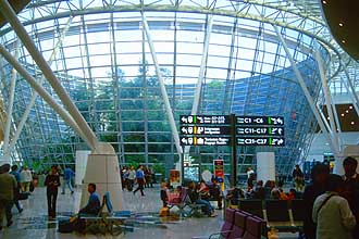Kuala Lumpur International Airport - with tropical rainforest