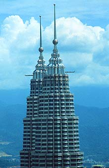 Petronas Twin Towers top