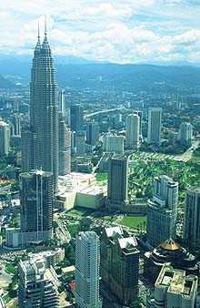 Petronas Twin from KL Tower