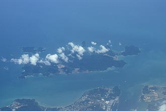 Pulau Pangkor island, close to the west-coast off Lumut (Perak)