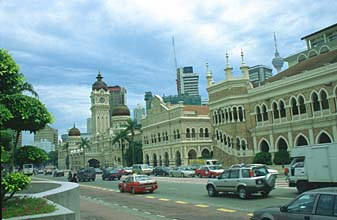 Sultan Abdul Samad Building and KL Tower