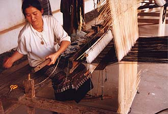 Ban Phanom weaving village, near Luang Prabang