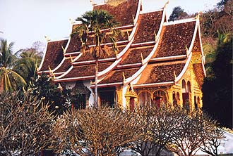 Wat Ho Prabang near the Royal Palace, Luang Prabang