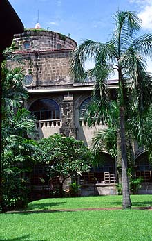 San Augustin Church Museum courtyard, Intramuros, Manila